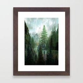 Mountain Morning 2 Framed Art Print