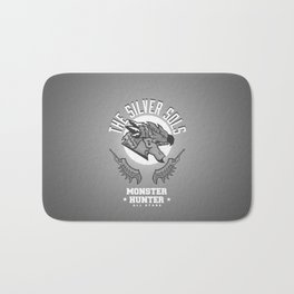 Monster Hunter All Stars - The Silver Sols Bath Mat