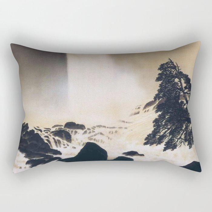 Morning in Ueno Rectangular Pillow