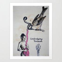 Underlying Tension Art Print