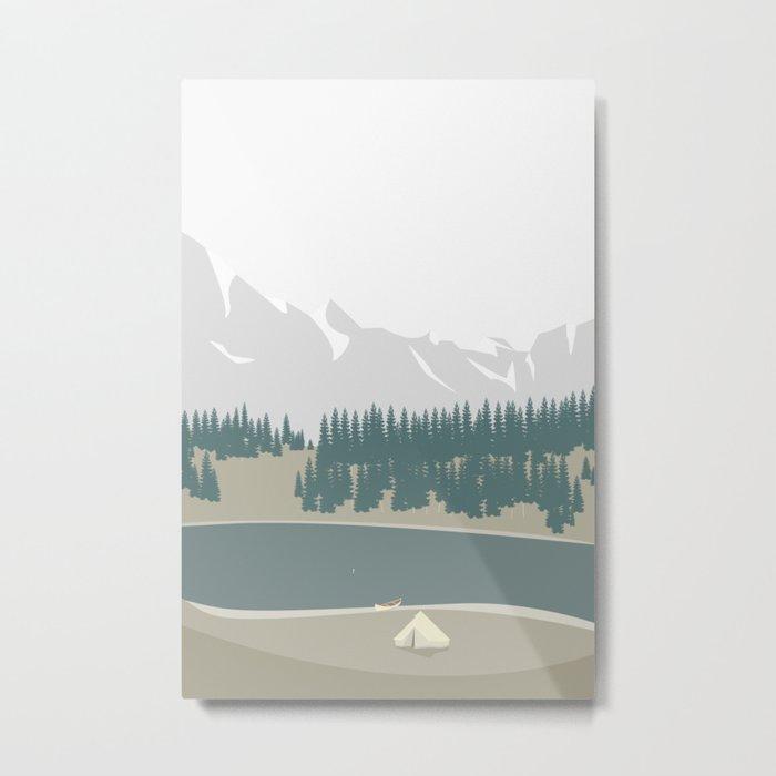 LEJR Metal Print