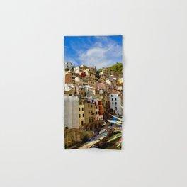 Riomaggiore, Cinque Terre, Italy Hand & Bath Towel