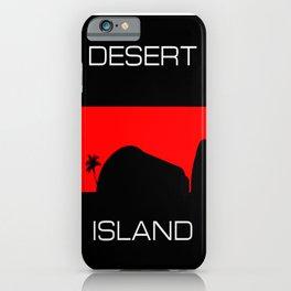 Desert Island iPhone Case