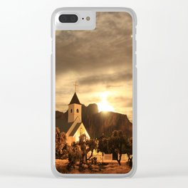 Jupiter Chapel Clear iPhone Case