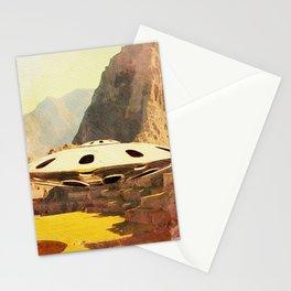 Flying Saucer - Machu Picchu Stationery Cards