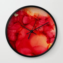 Rosy Thoughts Wall Clock