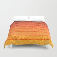sunrise Duvet Covers featuring Sunrise by Diogo Verissimo