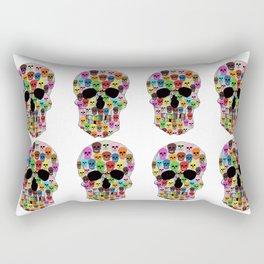 colorfull skull Rectangular Pillow