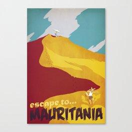 Mauritania Canvas Print