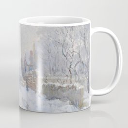 Snow Scene at Argenteuil by Claude Monet Coffee Mug