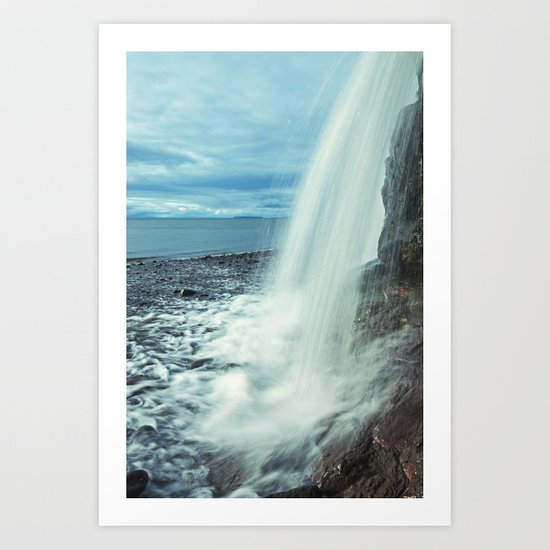 Fundy Waterfall Art Print