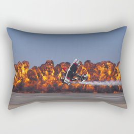 Flight and Flame Rectangular Pillow