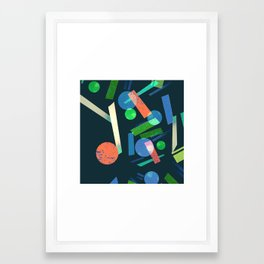Geometry 3 Framed Art Print