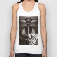 industrial Tank Tops featuring Industrial by Cash Mattock