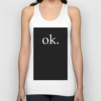 kim sy ok Tank Tops featuring ok by The Funky Skull