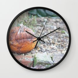 I Guess Halloween Is Over Wall Clock