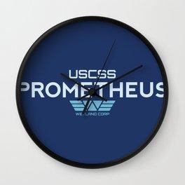 USCSS Prometheus - Crew Member Shirt Wall Clock