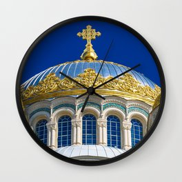 Marine Kathedrale in Kronstadt / Saint Petersburg Wall Clock