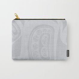 Raven and the First People Grey Lund Carry-All Pouch