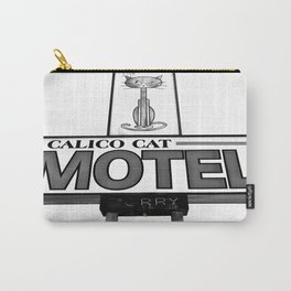 Cool cat motel Carry-All Pouch