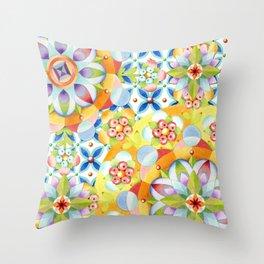 Byzantine Heraldic Throw Pillow