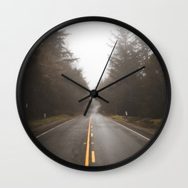 Chasing the Fog Wall Clock