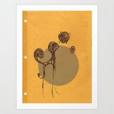 IKA Art Print