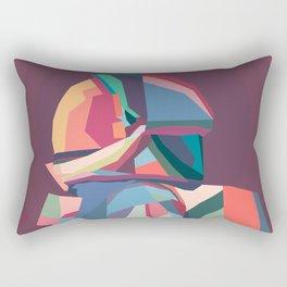 Rainbow Astronout In Pop Art Rectangular Pillow
