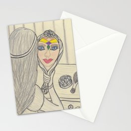 Prismatic Reflection Stationery Cards