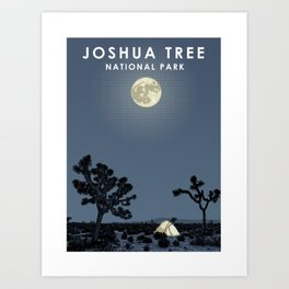 Joshua Tree National Park Art Print