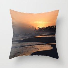 Photo 51 Ocean Beach Sunset Throw Pillow