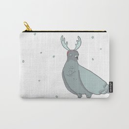 christmas pigeons Carry-All Pouch
