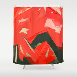 Willpower Power Shower Curtain