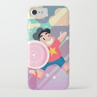 steven universe iPhone & iPod Cases featuring Steven by Viga Victoria Gadson