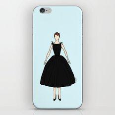 Audrey Hepburn Vintage Retro Fashion 1 iPhone & iPod Skin