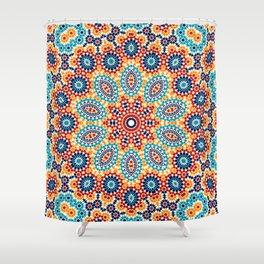 Jericho Mosaic Mandala Shower Curtain