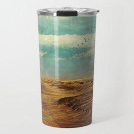 Winter by the Sea Travel Mug