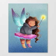 the lazy fairy godmother Canvas Print