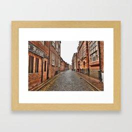 Bishop Lane Framed Art Print