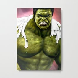 Dr.Incredible Metal Print
