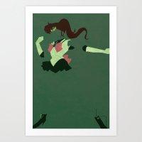 sailor jupiter Art Prints featuring Sailor Jupiter by JHTY