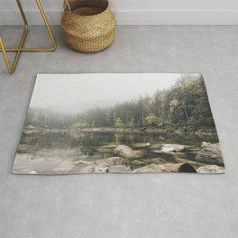 Pale lake - landscape photography Rug
