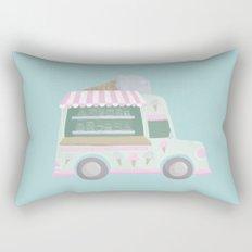 Ice Cream Truck Rectangular Pillow