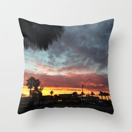 8:00 North Throw Pillow