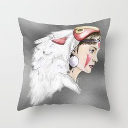 san Throw Pillow