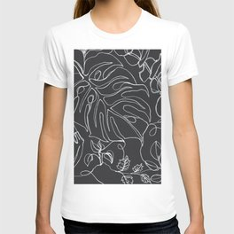 Botanical in B&W T-shirt