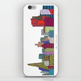 San Francisco city skyline iPhone Skin