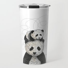 Panda Family Travel Mug