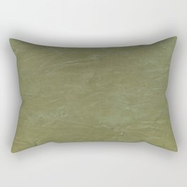 Italian Style Tuscan Olive Green Stucco - Luxury - Neutral Colors - Home Decor - Corbin Henry Rectangular Pillow