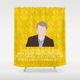 The Blind Banker - John Watson Shower Curtain